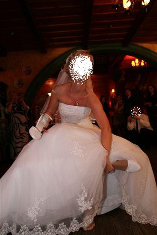 Suknia ślubna HERM Lirista koronka tiul tren 3