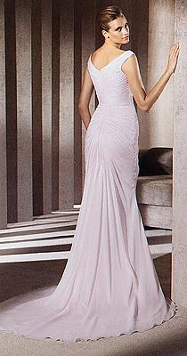 OKAZJA!!! Sprzedam: suknie slubna Madonna- PRONOVIAS, model:ABACO, r.36 2